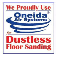 Oneida logo for dust containment sanding