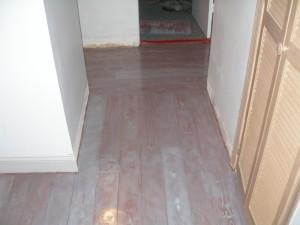 resurfacing concrete floor to look like hardwood